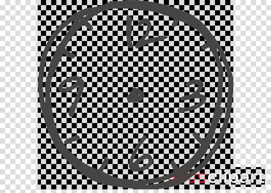 Icon Clock clipart.
