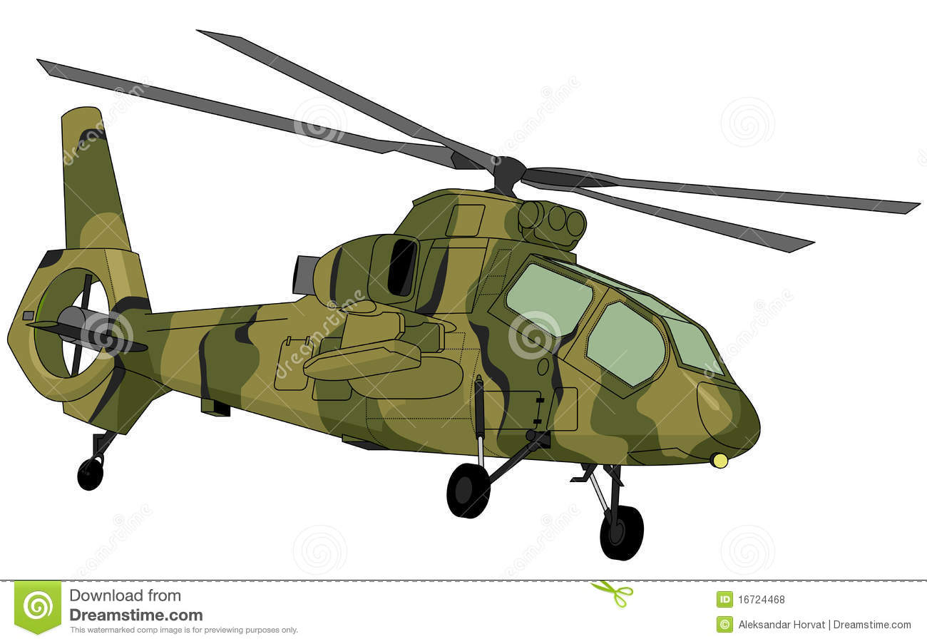 Helicopter Rotor Blade Stock Illustrations.