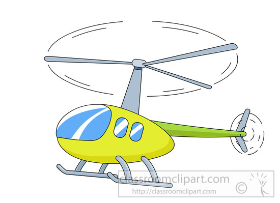 Helicopter : flying.