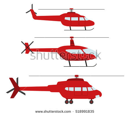 Helicopter Vector Stock Photos, Royalty.