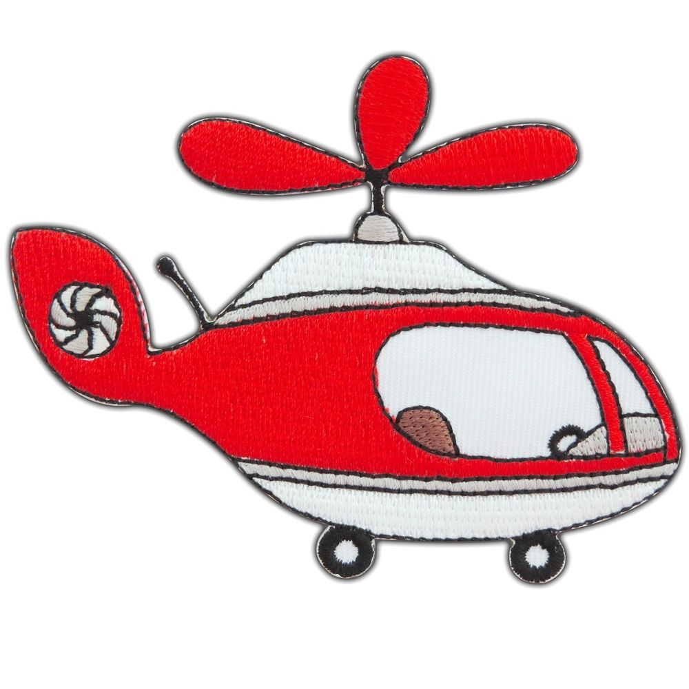 Helicopter Aircraft Rotor Craft Chopper Copter Plane Police Iron.