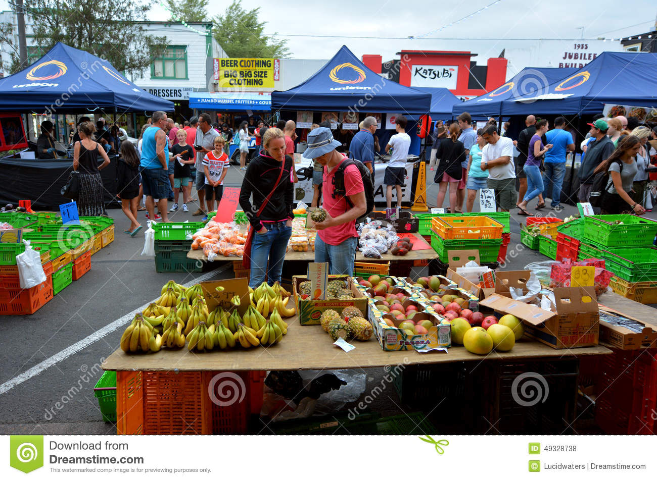 Rotorua Night Market.