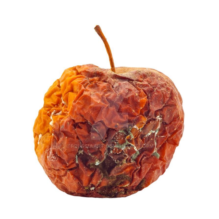 Rotten apple png clipart images gallery for free download.