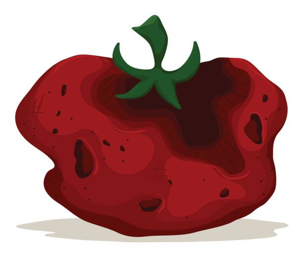 Rotten Vegetables Clipart.