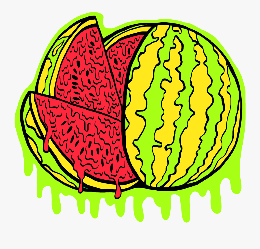 Rotten Fruits Watermelon Tee Clipart , Png Download.