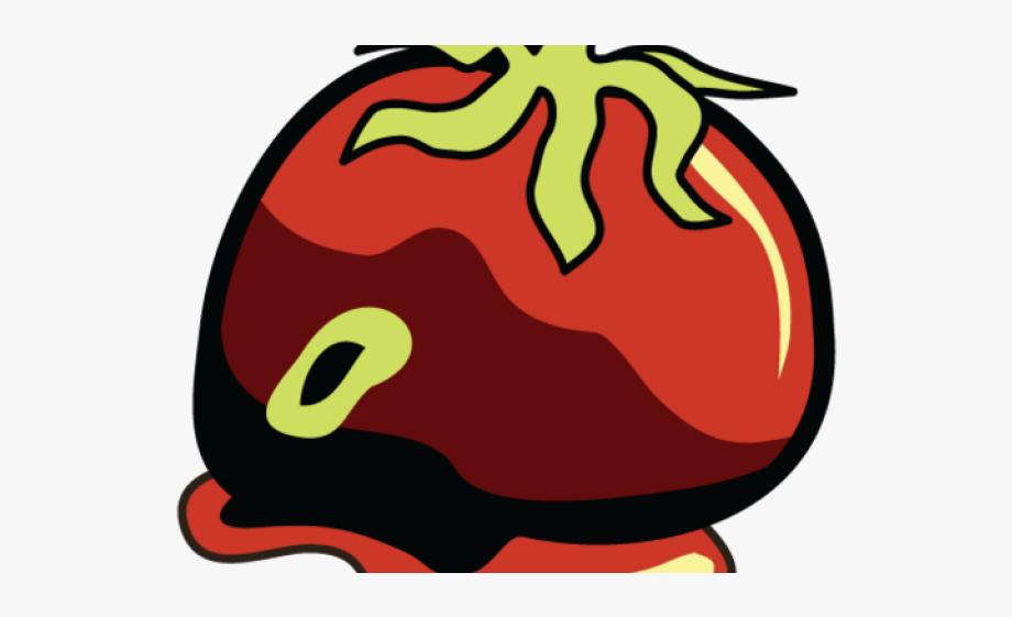 Tomato Clipart Rotten Tomato.