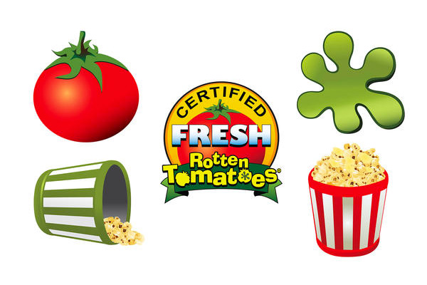 Brand New: New Logo for Rotten Tomatoes by Pentagram.