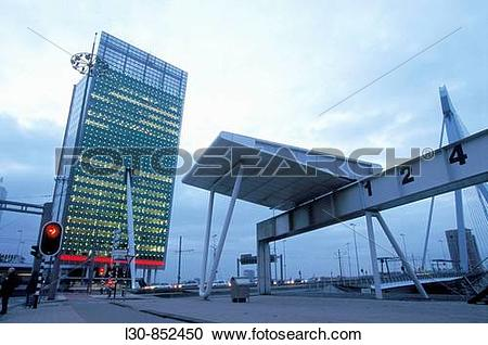 Stock Photography of KPN Tower (Tower on South, ?Toren Op Zuid.