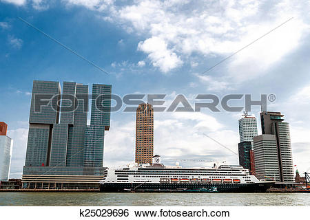 Stock Images of Rotterdam.