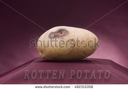 Potato Disease Stock Photos, Royalty.