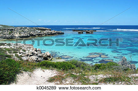 Stock Photograph of Rottnest Island k0045289.