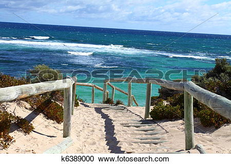 Stock Photography of Rottnest island in Australia k6389000.