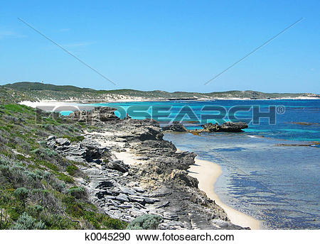 Stock Photography of Rottnest Island k0045290.