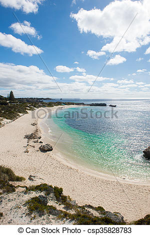 Pictures of Rottnest Island Western Australia Perth beach.