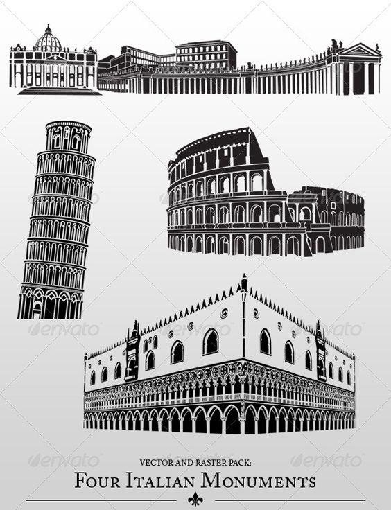 Italian Monuments.