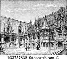 Rouen Clipart Illustrations. 61 rouen clip art vector EPS drawings.