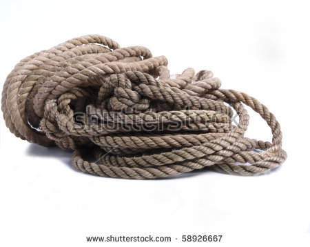 Twisted Rope Stock Photos, Royalty.