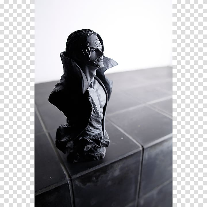 Figurine White, the rough edges transparent background PNG.