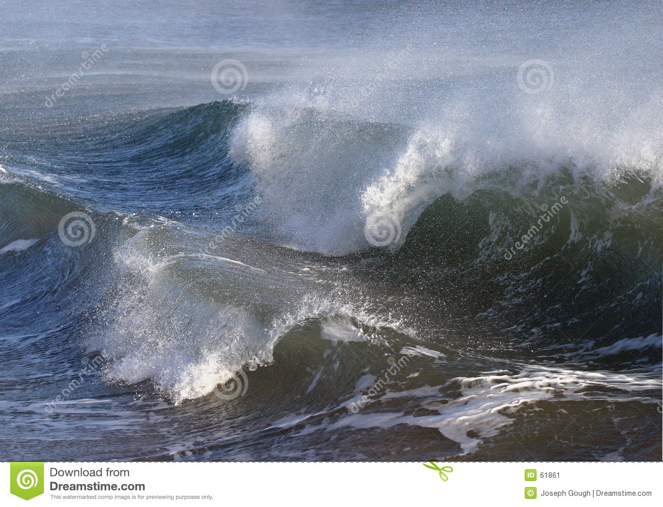 Stormy Rough Sea Waves Stock Image.