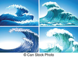 Rough seas Clipart Vector Graphics. 876 Rough seas EPS clip art.