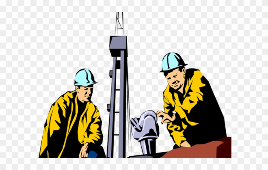Oil Rig Clipart Roughneck.