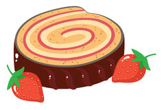 Roulade Stock Illustrations.