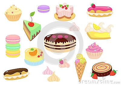 Chocolat Roulade Stock Illustrations.