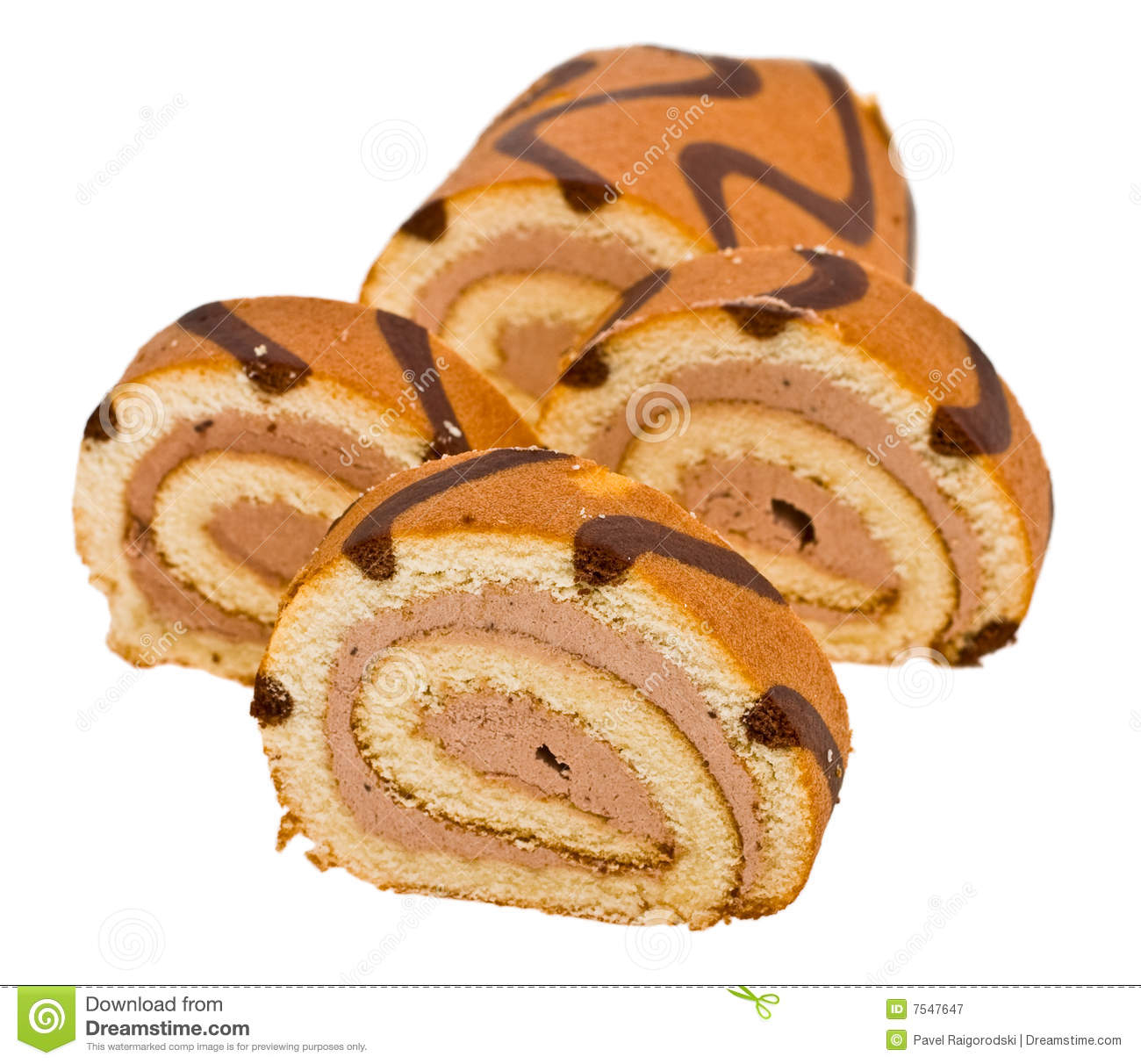 Roulade Royalty Free Stock Photography.