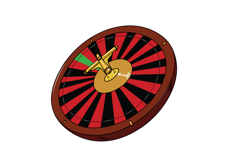 Free Clipart: Roulette Wheel.