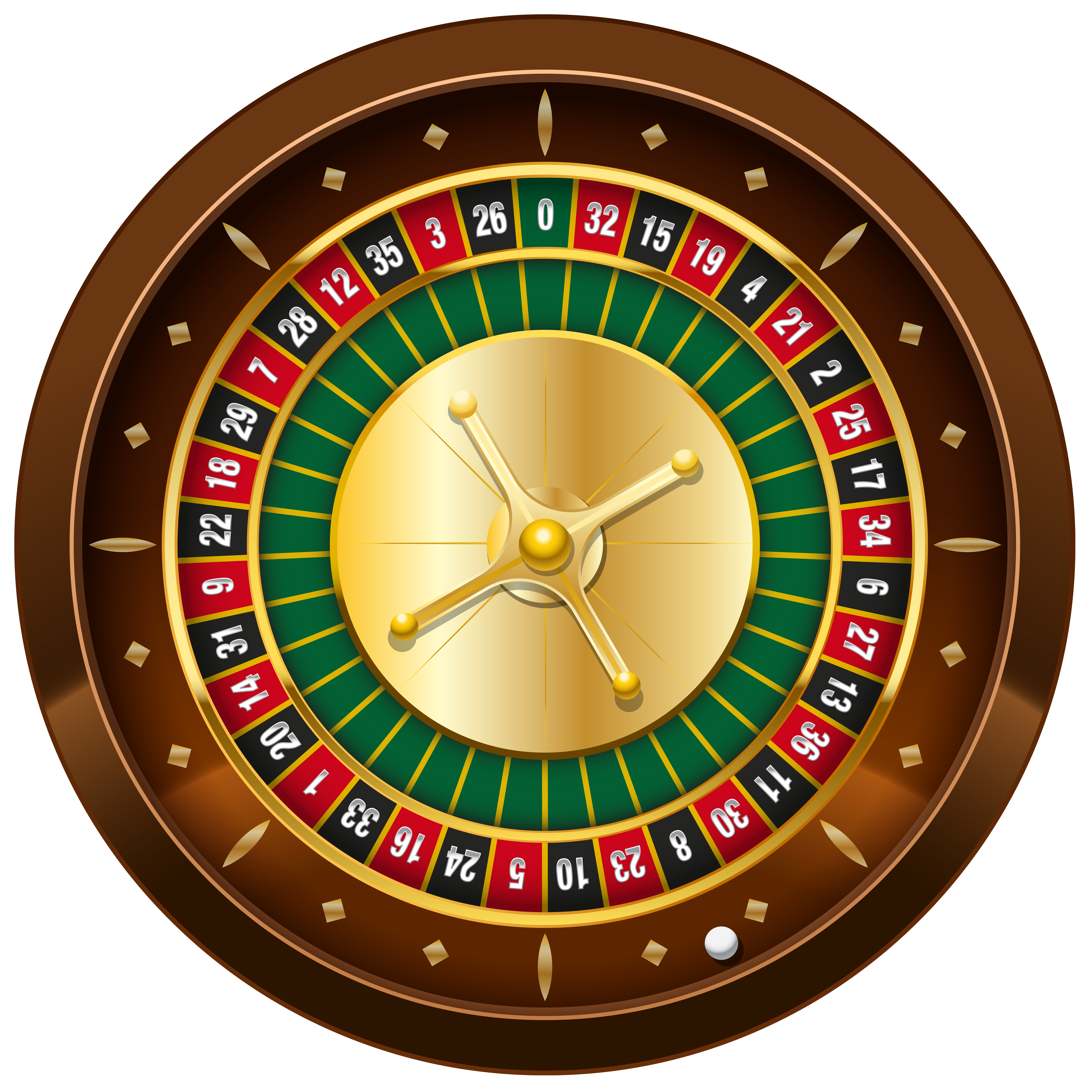 Casino Roulette PNG Clipart.