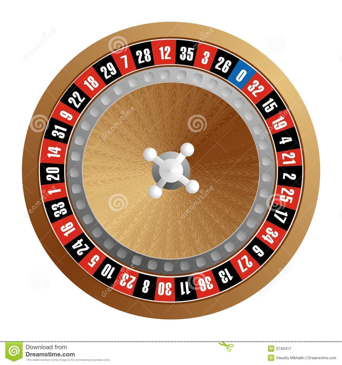 Roulette Wheel Stock Illustrations.