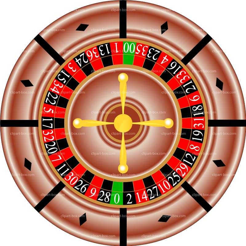 Roulette Clipart.