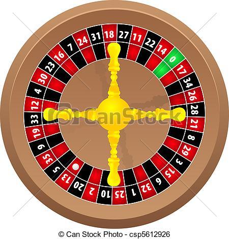 Roulette cliparts.