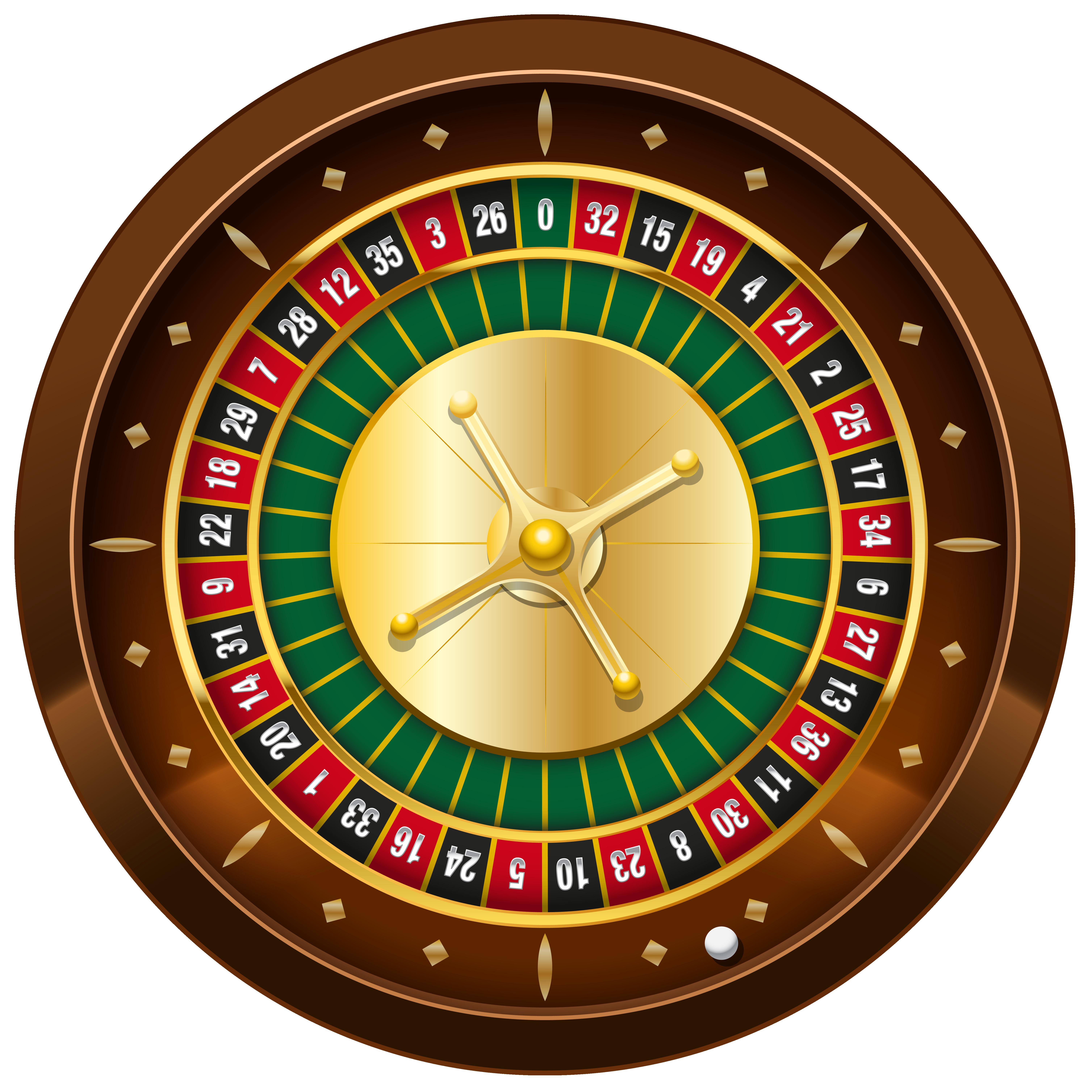 Clipart roulette wheel.