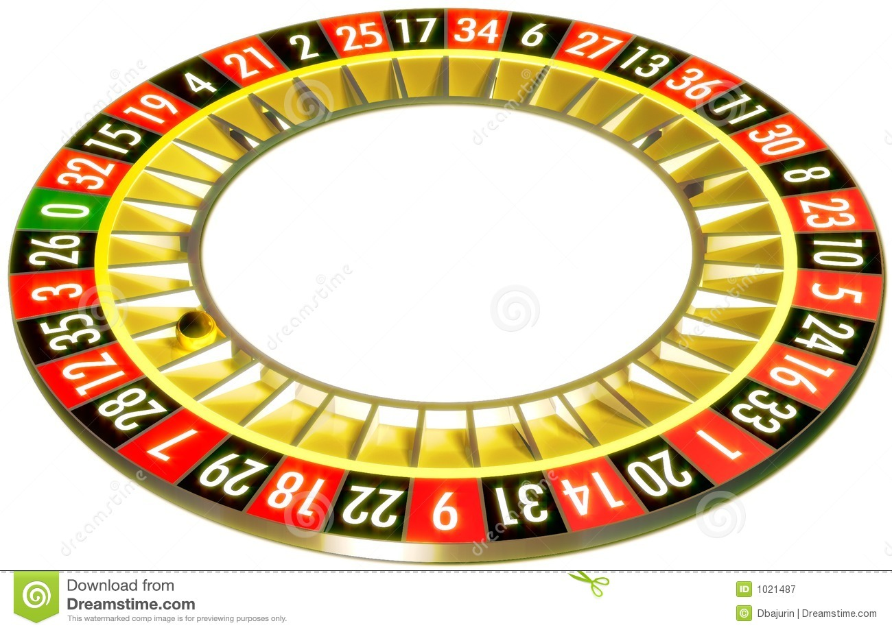 Roulette table clipart.