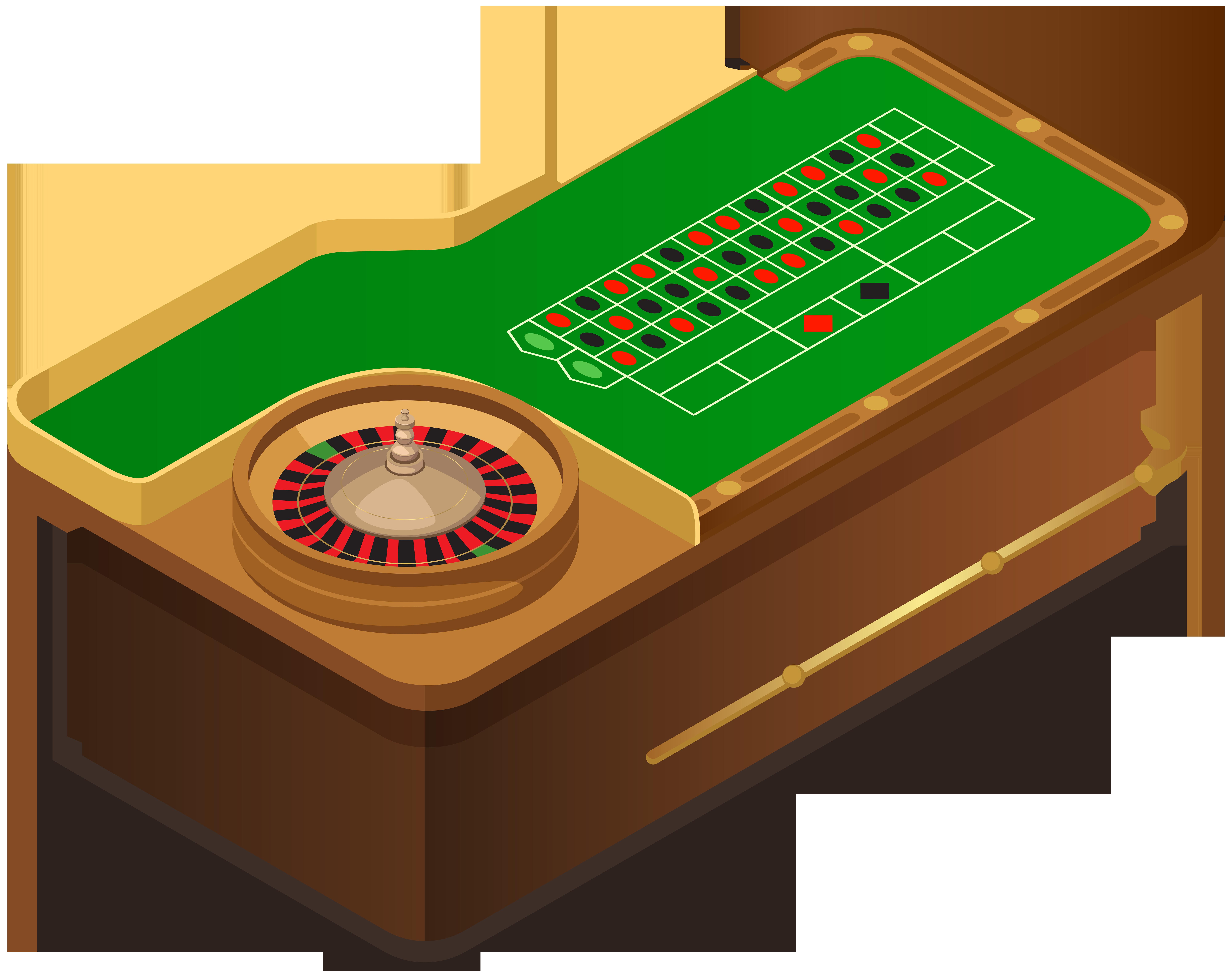 Roulette Table PNG Clip Art.
