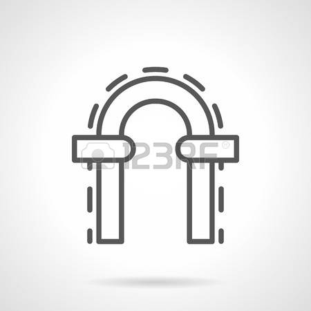 460 Gateway Arch Stock Vector Illustration And Royalty Free.