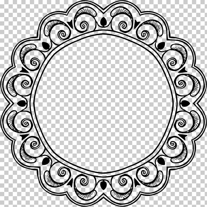 Computer Icons Circle , retro round badge PNG clipart.