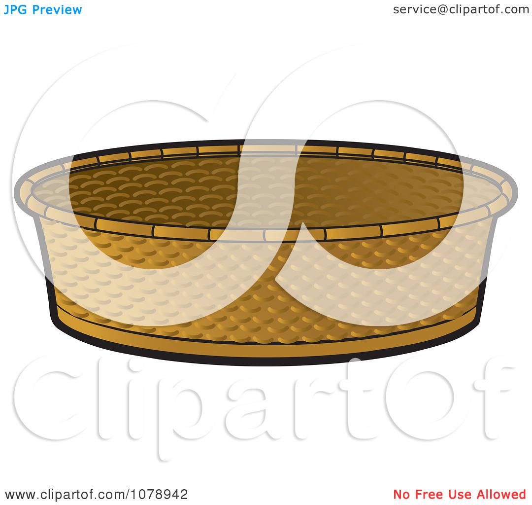 Clipart Round Basket.