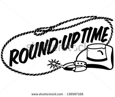Rodeo Round Up Clipart.