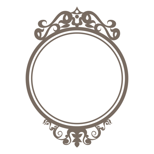 Round Frame PNG Clipart.