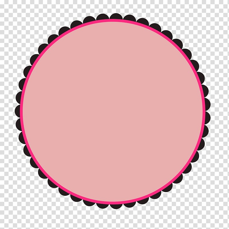 Borders and Frames Frames , Round Doodle transparent.