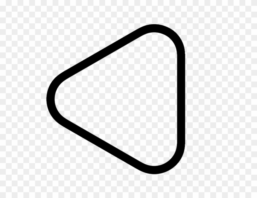 Triangle With Round Corners Clipart (#2349428).