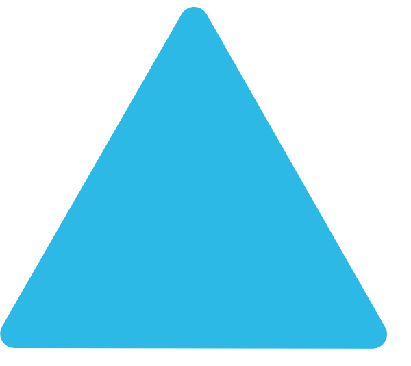 Rounded Triangle Clipart.