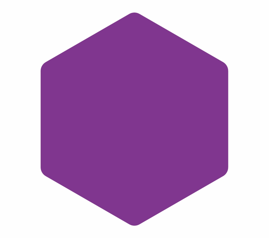 Hexagon Rounded Corners Png.