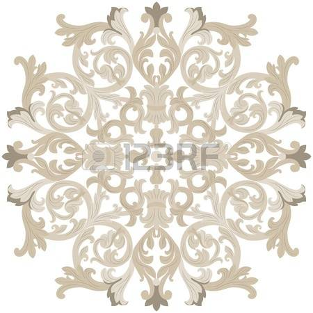 494,644 Round Ornament Cliparts, Stock Vector And Royalty Free.