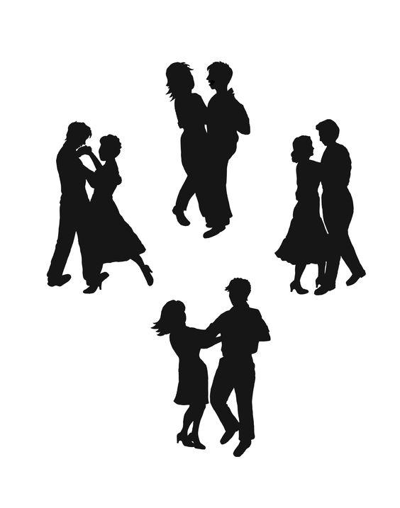 Dancing Silhouette.