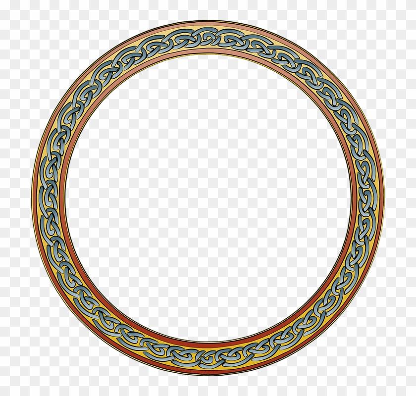 Border Ring Frame Design Circle Decoration Round.