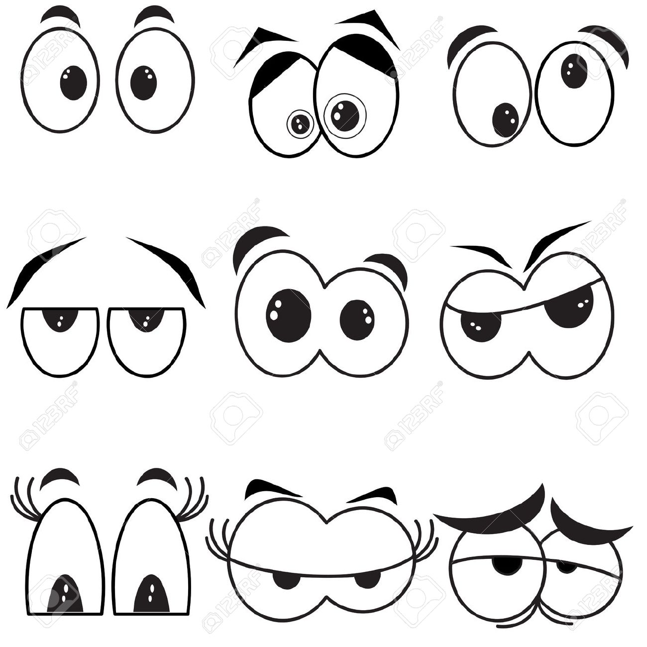 34,755 Round Eyes Cliparts, Stock Vector And Royalty Free Round.