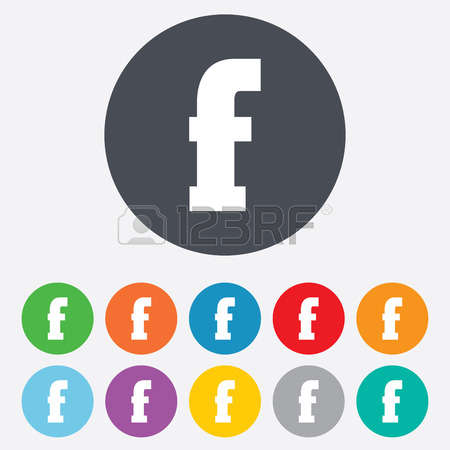 759 Facebook Icons Stock Vector Illustration And Royalty Free.
